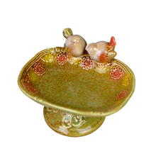Nordic Porcelain Figurine Soap Box Ceramic Birds Statue Room Decor Craft Ornament Accessories Daily Life Washroom