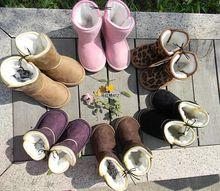Vente chaude! 5 Couleurs Au Détail Garçons Filles Bottes de Neige Enfants Chaussures Chaudes Enfants Bottines Bottes de L'enfant Enfant Infantile hiver Botte de Neige