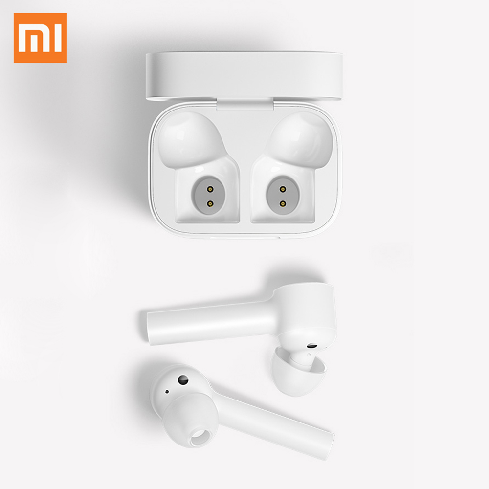 New Original Xiaomi Air Bluetooth Earphone MI AAC HD Sound Noise Reduction Touch TWS Wireless Bluetooth Headset With Mic Earbuds