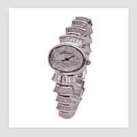 Melissa Women Luxury Rhinestone Cake Watches Fantasy Bracelet Jewelry Watch Japan Quartz Zircon Bangle Wrist watch Oval Montre