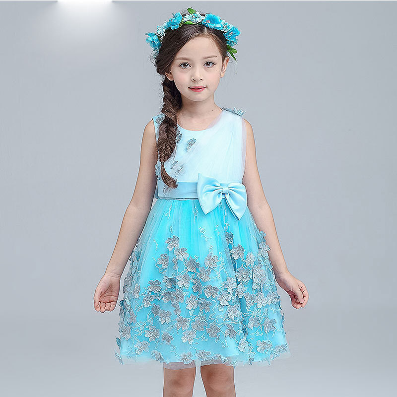 ФОТО Girl Dress Summer 2016 Children's Garment In Will Child Thick And Disorderly Princess Love Shakespeare Paillette. TS18.32.