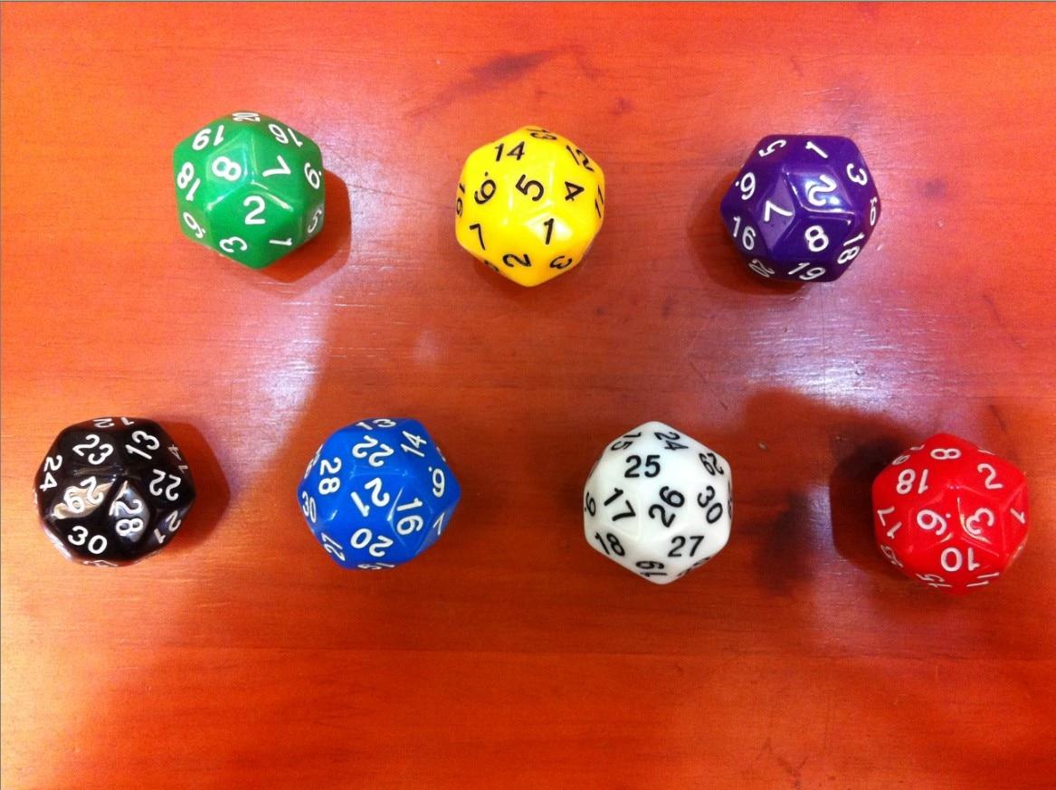 D30 เกมลูกเต๋าดิจิตอลลูกเต๋า bosons ของเล่นเด็ก / การสร้างโลกของโลกฟิชชันลูกเต๋า / World of Warcraft เกมลูกเต๋า
