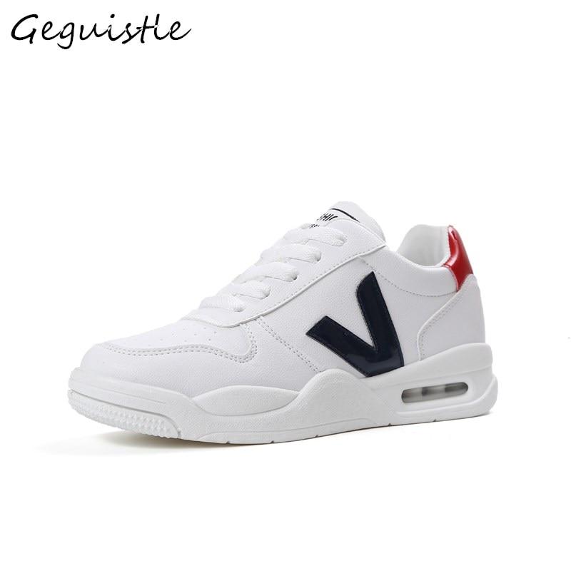 212008bdcdc4 Coussin Casual Noir Sneakers Femmes blanc rose Confortable D'air Mode  Chaussures Nouveautés g68dwYqq