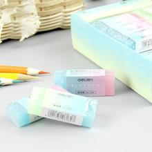 1pc Translucent Rectangle Rubber Pencil Eraser Block School Office Supply Stationery