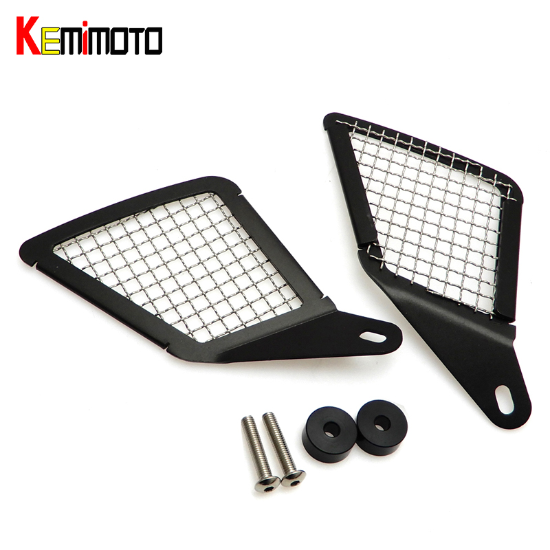 KEMiMOTO R1200GS Motorcycle Air Intake Grill Guard Cover Protector for BMW R 1200 GS LC 2013 2014 2015 2016 after market motorcycle radiator protective cover grill guard grille protector for kawasaki z1000sx ninja 1000 2011 2012 2013 2014 2015 2016