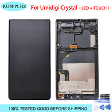 1280*720 black 5.5inches For UMI UMIDIGI Crystal LCD Display And Touch Screen assembly with frame Replacement umicrystal +Tools(China)