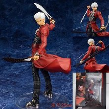 NEW hot 15cm Fate stay night Emiya Servant Archer Emiya Shirou action figure toys Christmas gift collectors