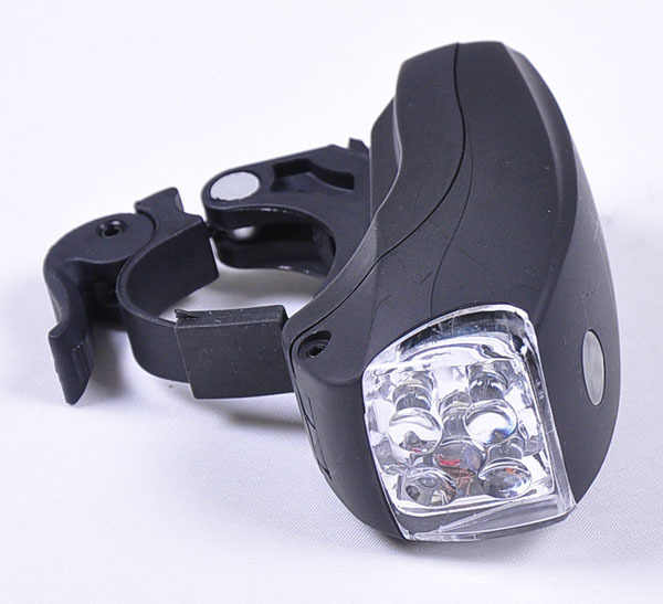 New Cycling Bike Bicycle Super Bright 5 LED Front Head Light Lamp 3-Modes Torch Bicycle Light Accessories Retail