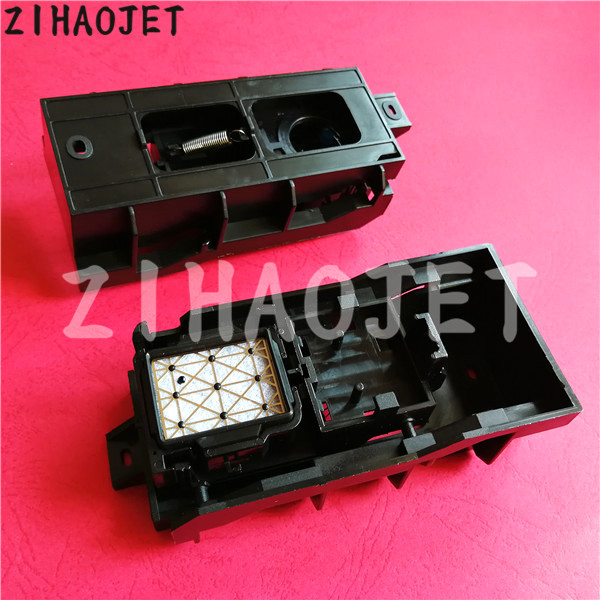 2pcs free shipping Wide format printer Mimaki JV33 JV5 TS3 cap top station  assembly for epson DX5 head assy clean tool-in Printer Parts from Computer