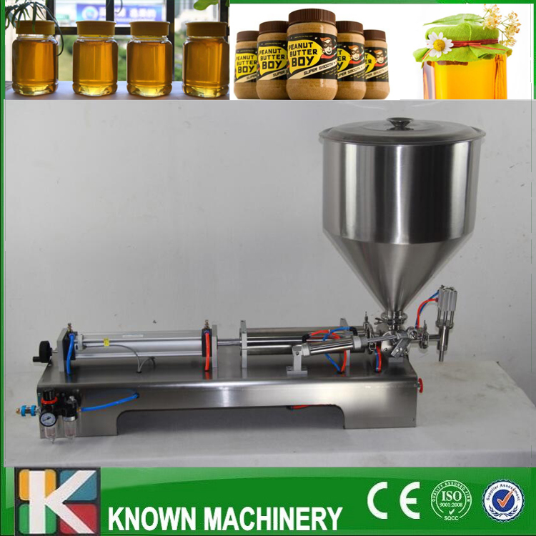 Fully pneumatic paste filling machine,pneumatic,with single Cylinder, piston shampoo cream sauce lotion oil filler with shipping shampoo lotion cream yoghourt honey juice sauce jam gel filler paste filling machine pneumatic piston filler with free shipping