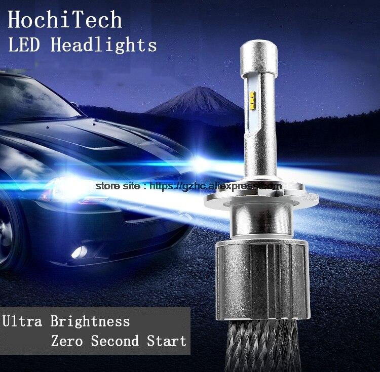 HochiTech H1 H4 H7 H11 H8 H9 9005 HB3 9006 HB4 LED Car Headlight Bulb Hi-Lo Beam 85W 9000LM 6000K white Auto Headlamp 12v 24v 12v led light auto headlamp h1 h3 h7 9005 9004 9007 h4 h15 car led headlight bulb 30w high single dual beam white light