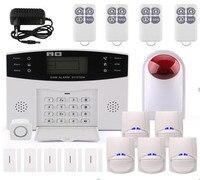 433Mhz Wireless GSM Burglar Alarm System With 5Sensor 5 Door Contact CS85 BA