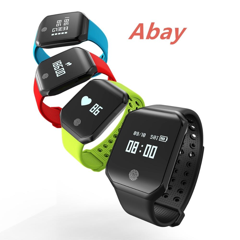 ABAY Z66 Smart Bracelet Watch Young People IP67 Waterproof ...
