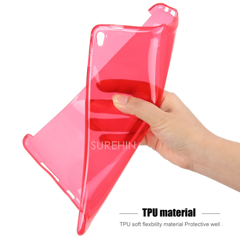 ipad pro cover Red- (1)