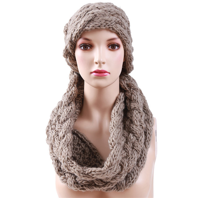 2017 Winter Ring Scarf 6 colors