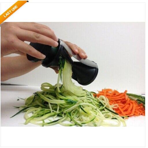 vegetable spiral slicer spirelli kitchen spiralizer julienne