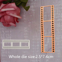 Film Metal Steel Cutting Embossing Dies For Scrapbooking paper craft home decoration Craft 2.5*7.4 CM