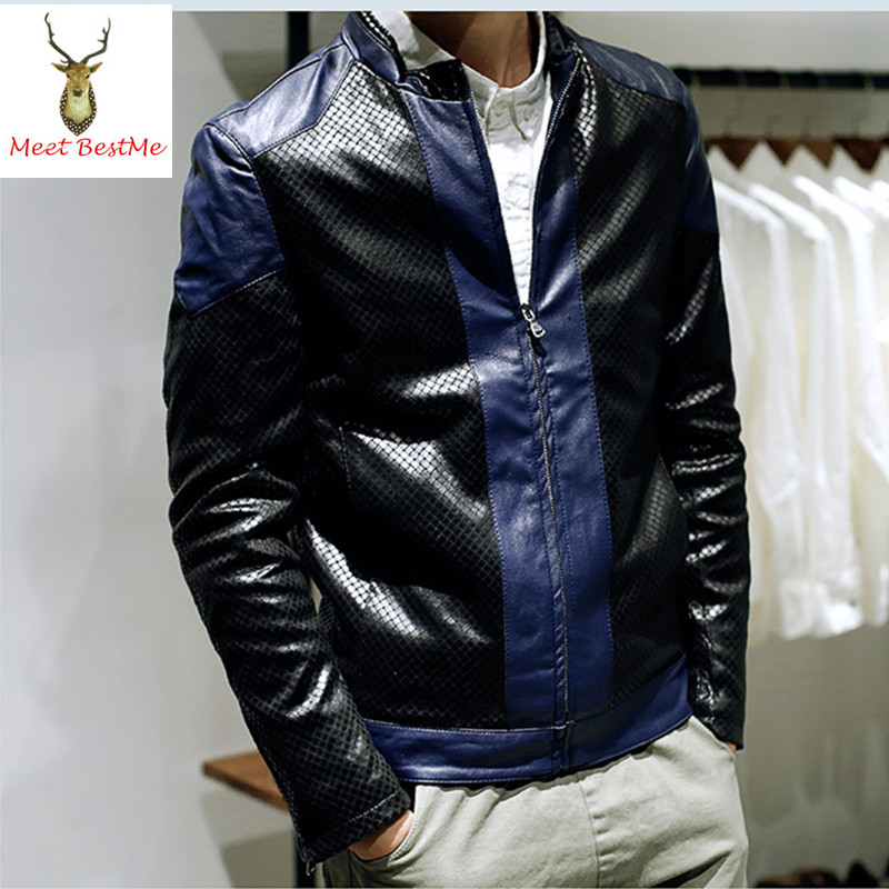 Online Get Cheap Blue Leather Jacket Men -Aliexpress.com | Alibaba ...