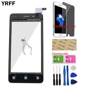 Image 2 - Pantalla táctil de 4,0 pulgadas para teléfono Fly FS408, Panel digitalizador Stratus 8, pantalla táctil, lente de cristal frontal, Sensor, herramientas, toallitas adhesivas