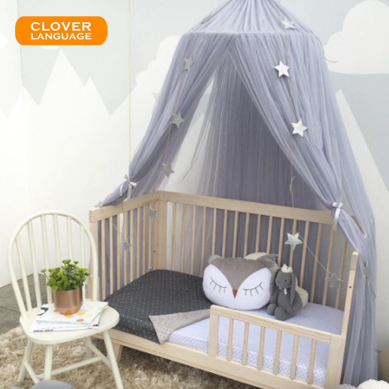 US $32.78 20% OFF|Children\'s Room Mosquito Net Tent Curtains Baby Dome Bed  Canopy Curtain Cover Hammock Home Bedroom Decoration-in Mosquito Net from  ...