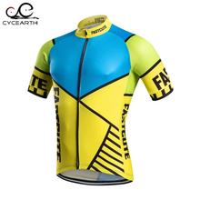 Pro Quality Fastcute 2016 short sleeve cycling jersey breathable shirt riding clothes cycling clothing jersey Ropa