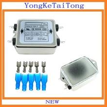 1 шт./лот EMI фильтр CW4L2-10A-T 10A 115V 250V CW4L2 CW4E 60/50 Гц