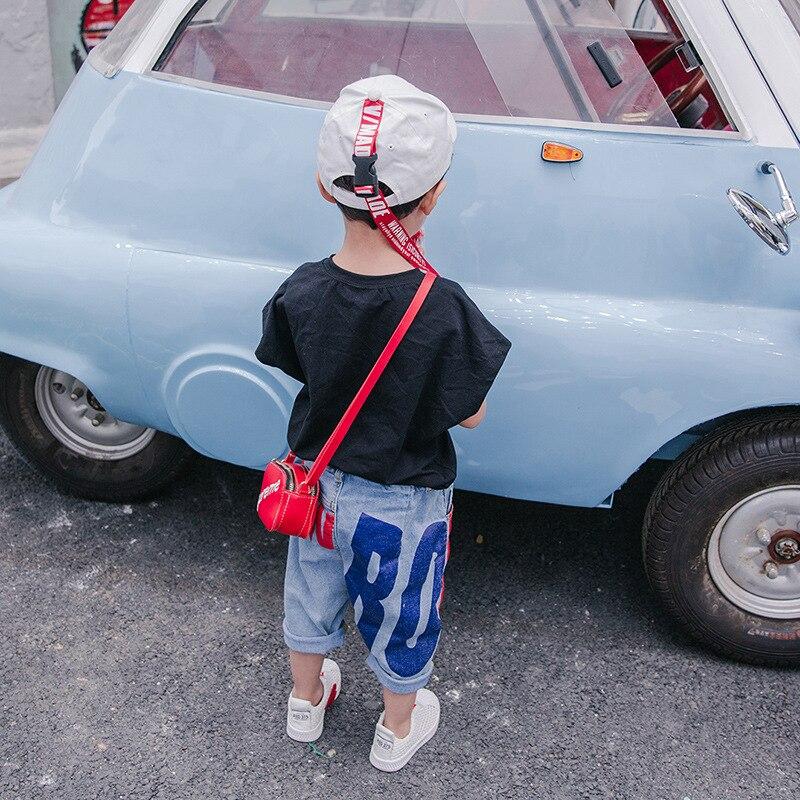 Letnie spodnie jeansowe chłopięce 2018 nowe spodenki dziecięce - Ubrania dziecięce - Zdjęcie 3