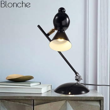 Modern Bird Table Lamp Magpie Reading Desk Lights for Living Room Bedroom Bedside Lamp Stand Lighting Fixtures Sconce Home Decor