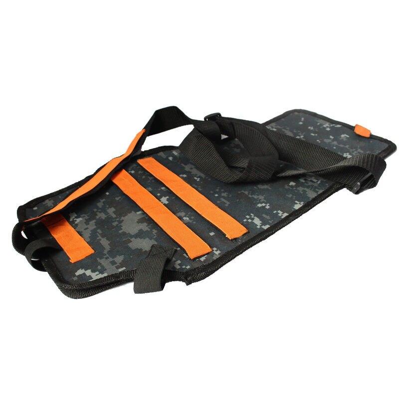 Children Toys Gun Bullet Soft Darts Back Pocket Backpack Storage Tactical Bag Holder for Nerf N-Strike Outdoor Sports Games