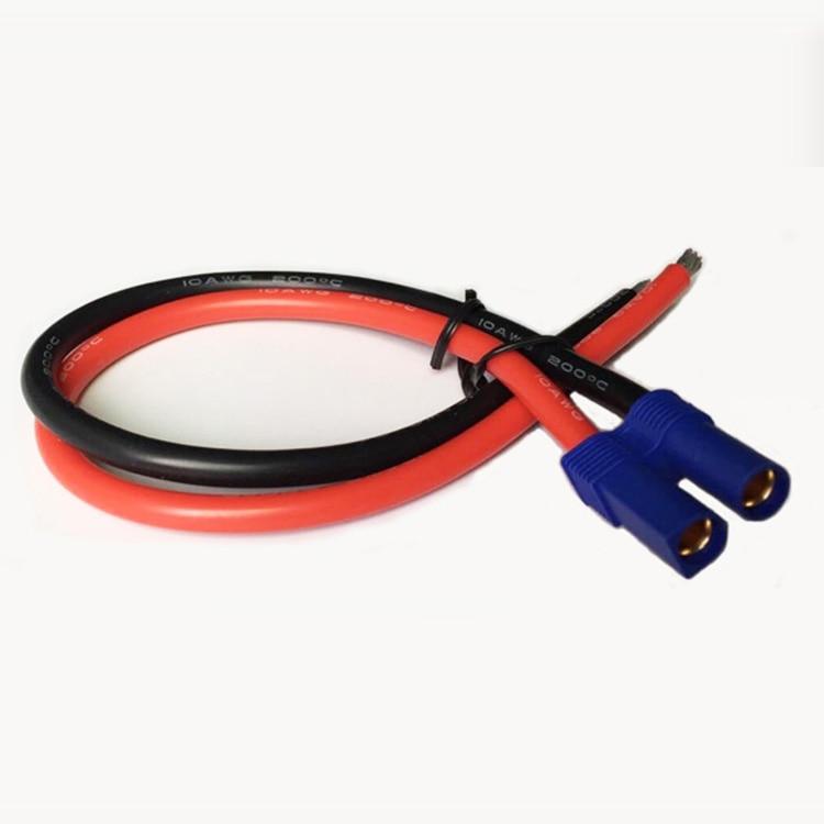 EC5 Plug Snelkoppeling 50A / 3239 / 10AWG Koperen Cord Kabel voor RC - Auto-elektronica