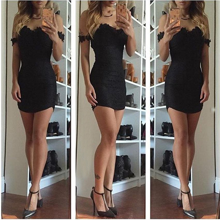 HTB11rYwRpXXXXbHXVXXq6xXFXXXZ - FREE SHIPPING Women Summer Mini Sexy Dress V Neck Sleeveless  Lace  Hollow Out Party Bandage JKP247