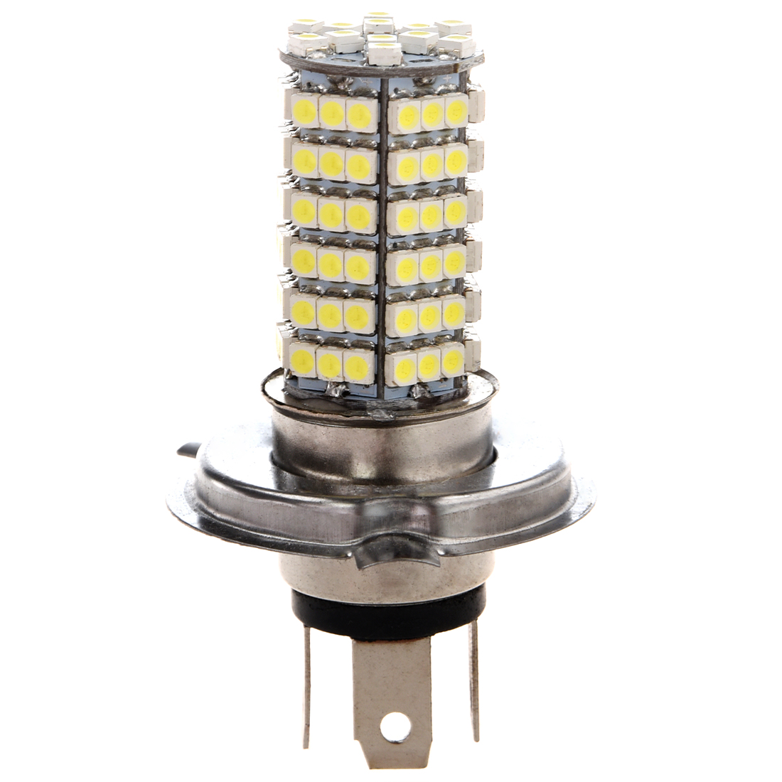 New 2 Car VEHICLE AUTO H4 120 SMD LED Light Bulb Lamp 12V