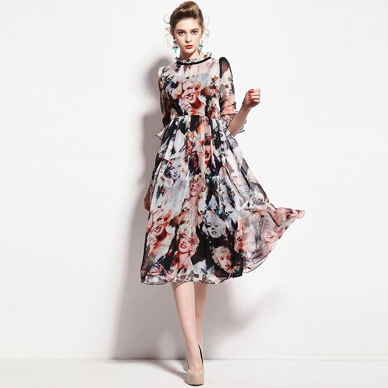 Marilyn Monroe Print Dress
