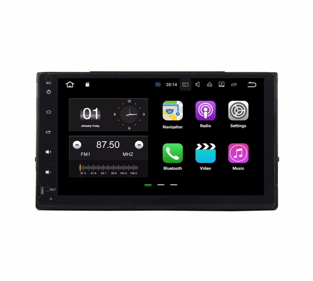Quad Core 9 Android 7.1 Car DVD Player for Toyota Corolla 2016 2017 With 2GB RAM Radio GPS 4G WIFI Bluetooth USB DVR 16GB ROM
