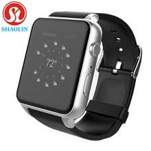 Gprs nfc bluetooth reloj inteligente reloj inteligente reloj smartwatch para apple iphone 5 5s 6 plus samsung teléfono inteligente android