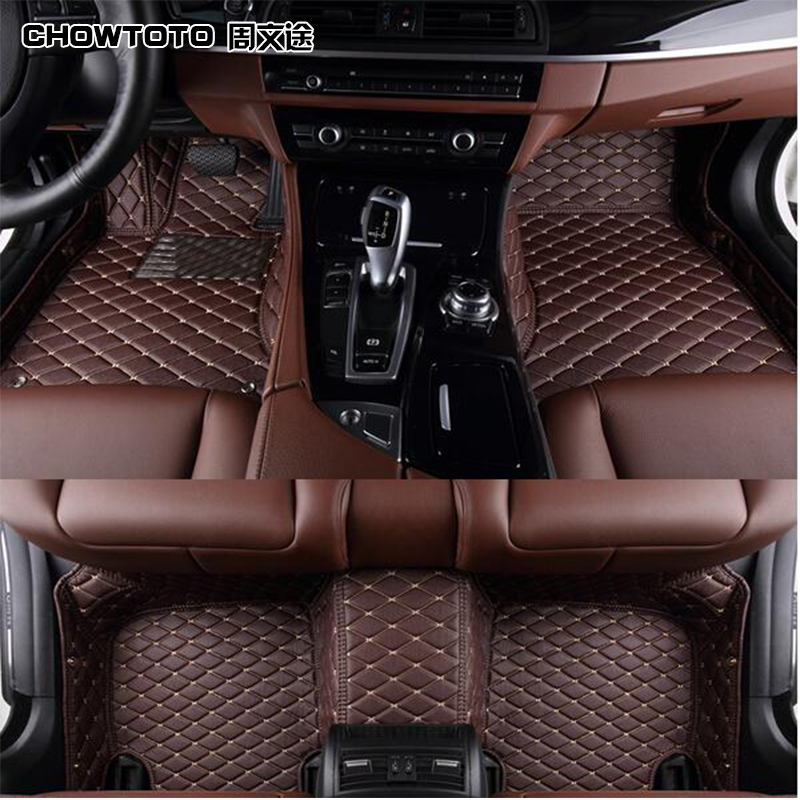 CHOWTOTO AA Custom Special Floor Mats For Renault Grand Scenic 7seats Durable Carpet For Grand Scenic 7 Seats Model