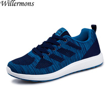 Summer & Autumn Men's Breathable Mesh Running Shoes Sports Trainers Men Outdoor Light Sneakers Shoes Sapatos Hombre