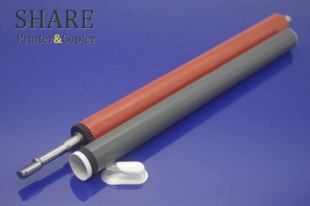 original new Fuser film sleeve Fixing Film + new pressure roller + G500 grease for HP P2035 P2055 P2030 Pro400 M400 M401 M425