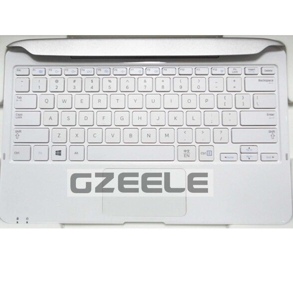 US laptop keyboard FOR samsung XE500T1C WHITE keyboard Dock station clavier