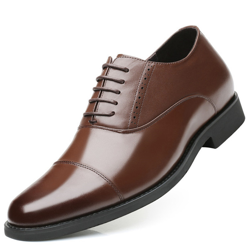 Promotion New Invisible Elevator Formal Dress Shoes Men's Oxford Shoes Leather Height Increasing 7cm For Wedding Party gerald greene e turning losing forex trades into winners proven techniques to reverse your losses
