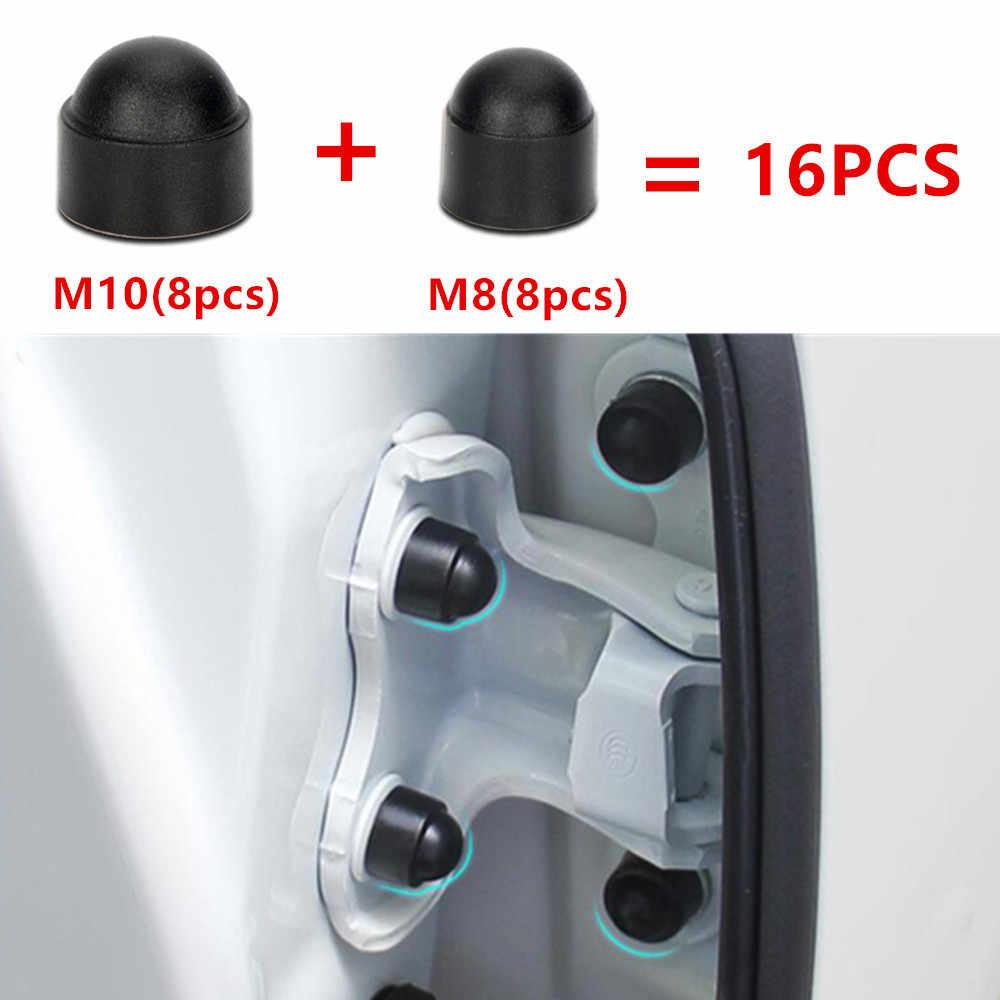 16PCS Auto Interieur Accessoires Universele Auto Schroef bescherming cap voor MERCEDES BENZ W203 W204 W205 C260 E300 GLC GLE