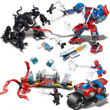 Marvel Sermoido Spiderman Avengers Wonder Woman Spider Man Homecoming Doctor Octopus Deadpool Figures Super Heroes Iron Toys