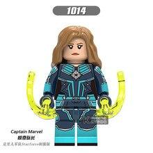 Endgame Ation Figure LegoINGly Super Hero Avengers Captain Marvel Ant Man Wasp Building Blocks Hulk Ironman Toys For Children