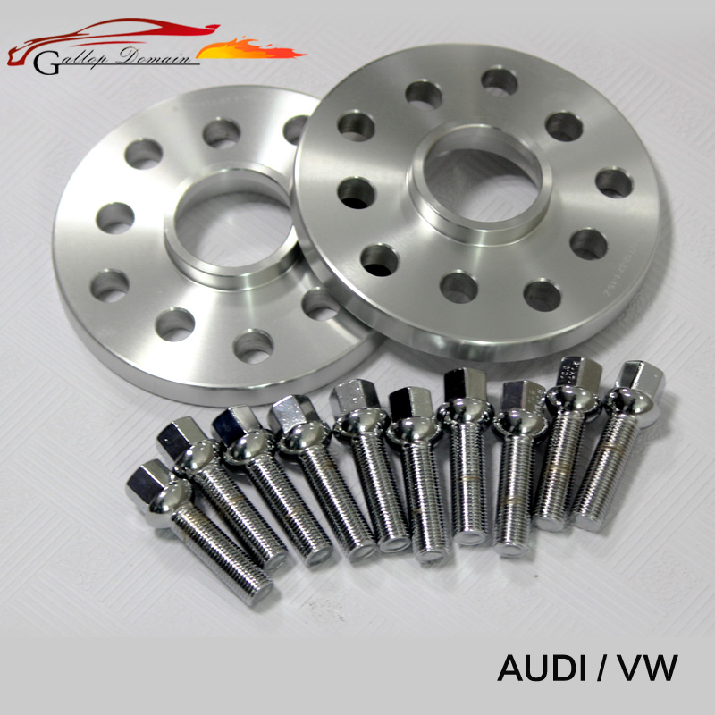2PCS 12mm Wheel Spacers suit for Car Audi Kit 5x100/5x112 CB:57.1 A1/A2/A3/A4(B5,B6,B7)/A6(C4,C5,C6)/A8(4E)/TT/ALLROAD/Quattro