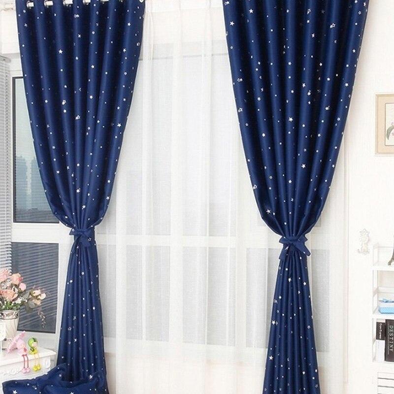 Door Window Panel Divider Room Star Curtain Decorative Home Room Multicolors