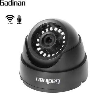 GADINAN CamHi 1080 P 960 P 720 P Kablosuz Kablolu Ses WIFI IP Kamera Ev Dome Güvenlik güvenlik kamerası IR kesim ONVIF TF Kart Yuvası P2P