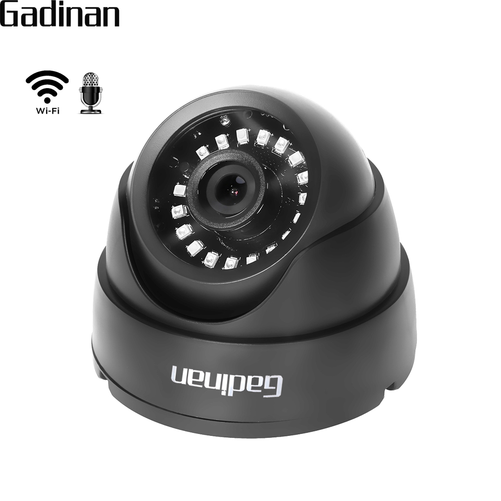 GADINAN CamHi 1080P 960P 720P Wireless Wired Audio WIFI IP Camera Home Dome Security CCTV Camera IR-Cut ONVIF TF Card Slot P2P