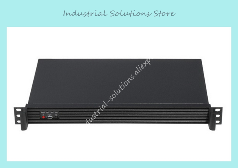 все цены на  NEW 1u server industrial computer case firewall 250mm depth aluminum panel support 17*17 motherboard  онлайн