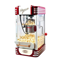 New Commercial Automatic Hand Crank Mini Small Childrens Popcorn Machine Ball Type Home Popcorn Machine