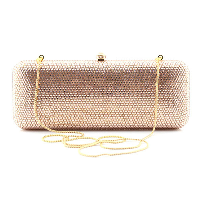 купить XIYUAN BRAND champagne party Evening Bag Women's Purse Diamond Clutch Bag purse for Women Handbag Wedding Wallet Shoulder Bag онлайн